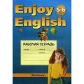 Английский язык. Английский с удовольствием. Рабочая тетрадь 5-6 кл. Биболетова
